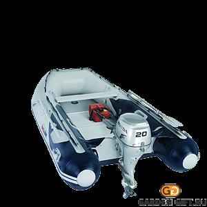 Надувная лодка T35 AE2 с алюминиевым днищем - фото 5487