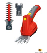 Ножницы аккумуляторные для газона и живой изгороди набор 3-в-1 Finesse Set_GardenGift