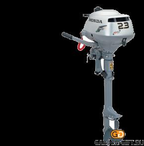 Лодочный мотор BF2,3D6 SC HU малой мощности - фото 5459