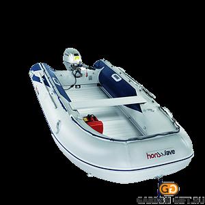 Надувная лодка T40 AE2 с алюминиевым днищем - фото 5488