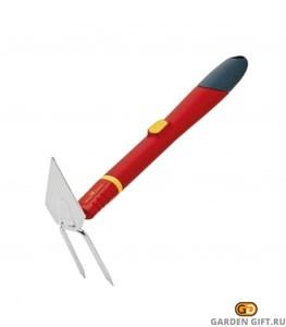 Мотыга двусторонняя Клювик с ручкой WOLF-Garten LL-M/ZM 30_GardenGift