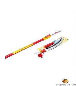 Пила профессиональная для сучков с телескопической ручкой WOLF-Garten RE-PM/ZM-V4_GardenGift