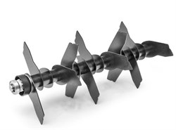 Вал сменный с ножами для вертикуттера Optima 38 VO - фото 7123